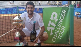 Federico Gaio lifts his first ATP Challenger Tour trophy in three years, prevailing in Manerbio.