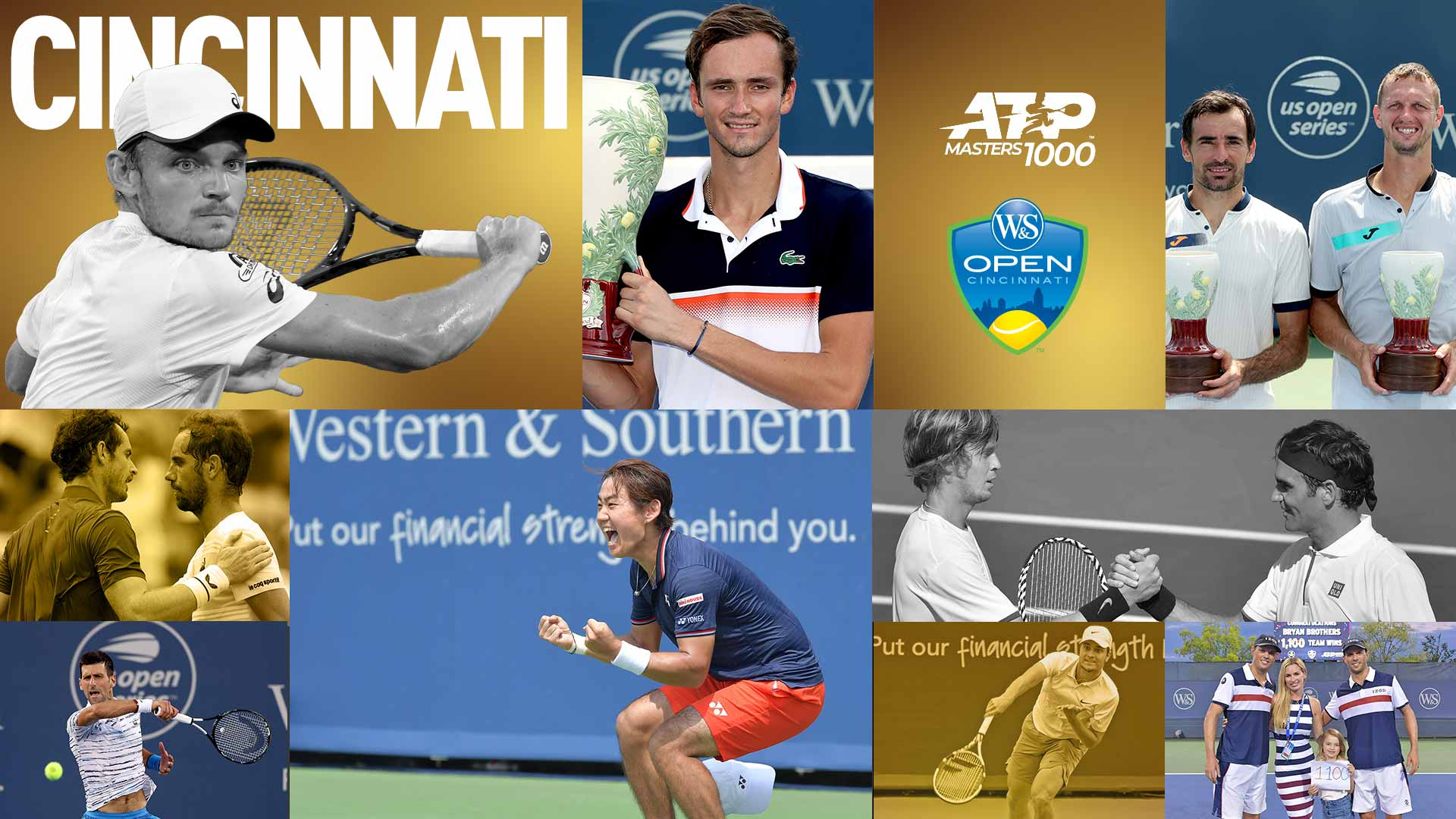 Look back at the 2019 Western & Southern Open in Cincinnati