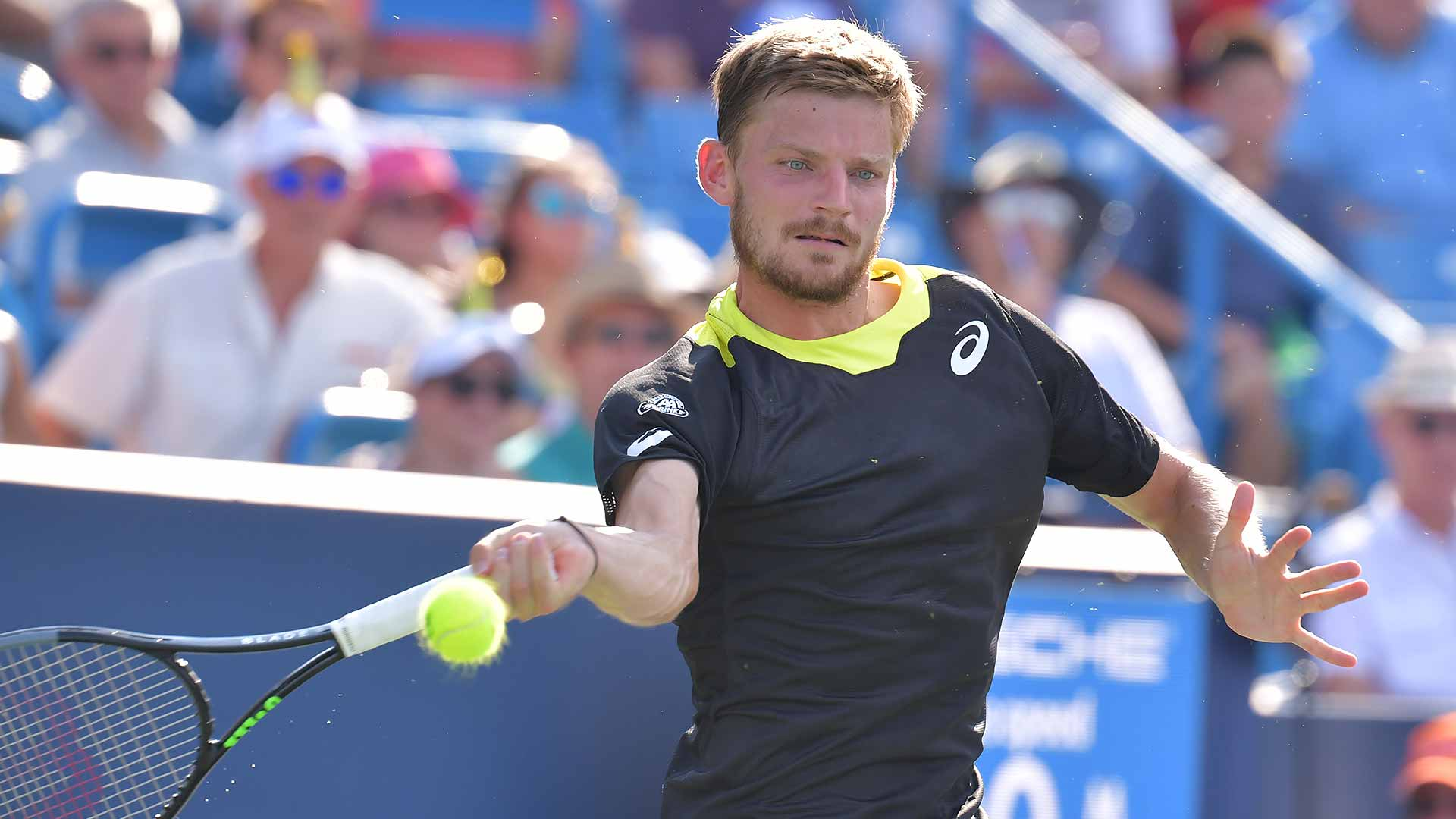 David Goffin plays in his first ATP Masters 1000 final on Sunday in Cincinnati.