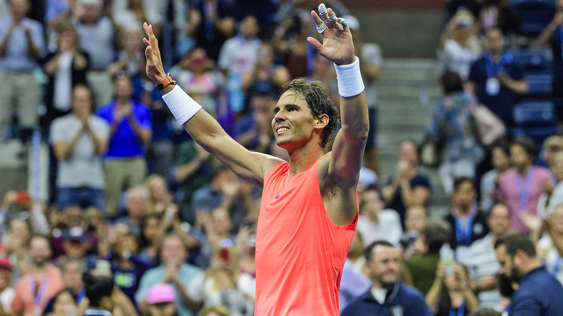 Rafael Nadal is the second seed at the US Open.