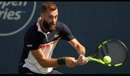 Benoit Paire is trying to win his third ATP Tour title of the season this week in Winston-Salem.