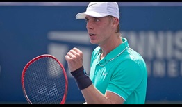 Denis Shapovalov reaches his second semi-final of the season on Friday in Winston-Salem.
