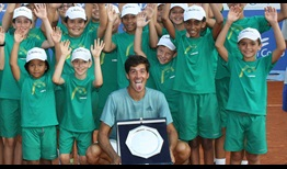 Facundo Mena is the champion in Como, claiming his maiden ATP Challenger Tour title.