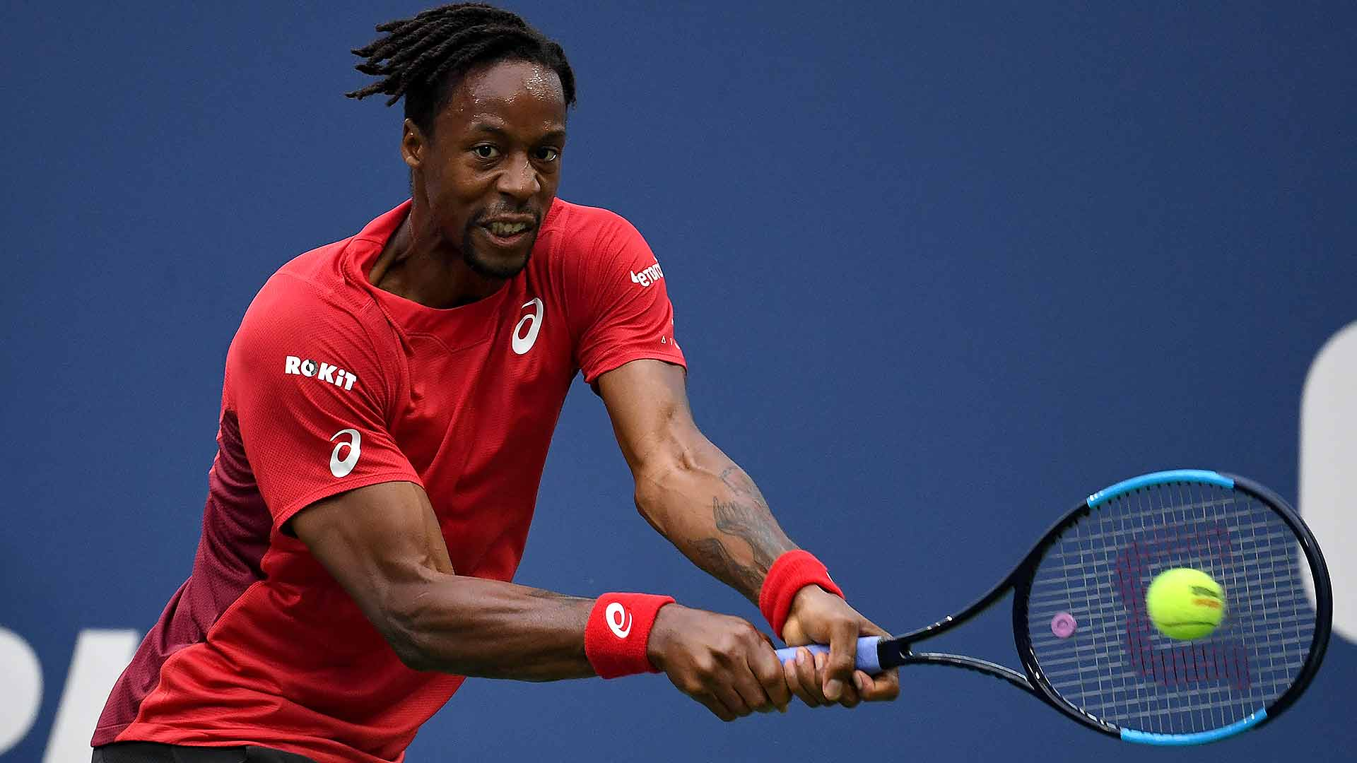 Gael Monfils is looking to reach his third Grand Slam semi-final this week at the US Open.