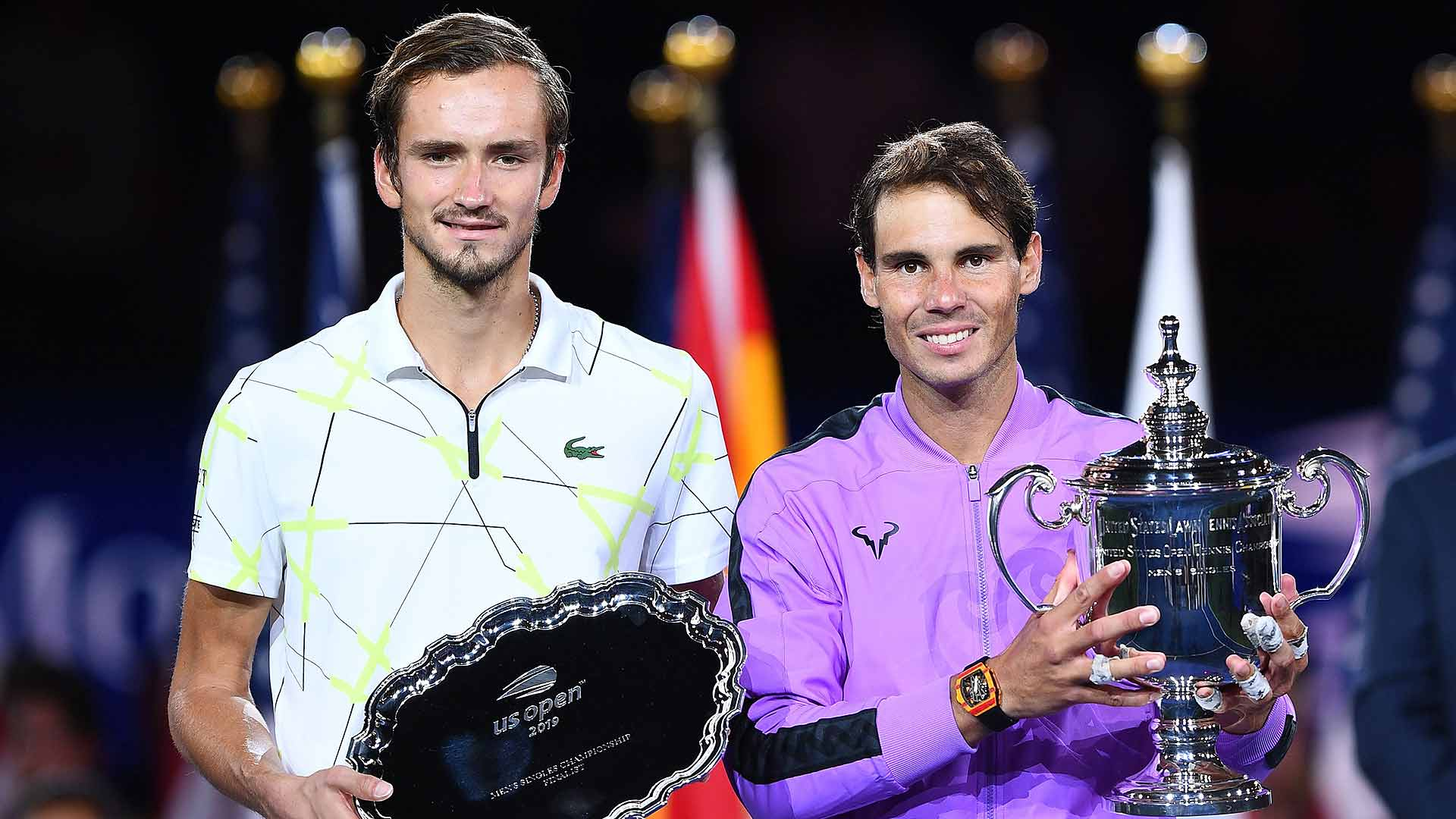 <a href='https://www.atptour.com/en/players/daniil-medvedev/mm58/overview'>Daniil Medvedev</a> and <a href='https://www.atptour.com/en/players/rafael-nadal/n409/overview'>Rafael Nadal</a> helped the <a href='https://www.atptour.com/en/tournaments/us-open/560/overview'>US Open</a> set a new attendance record this year.