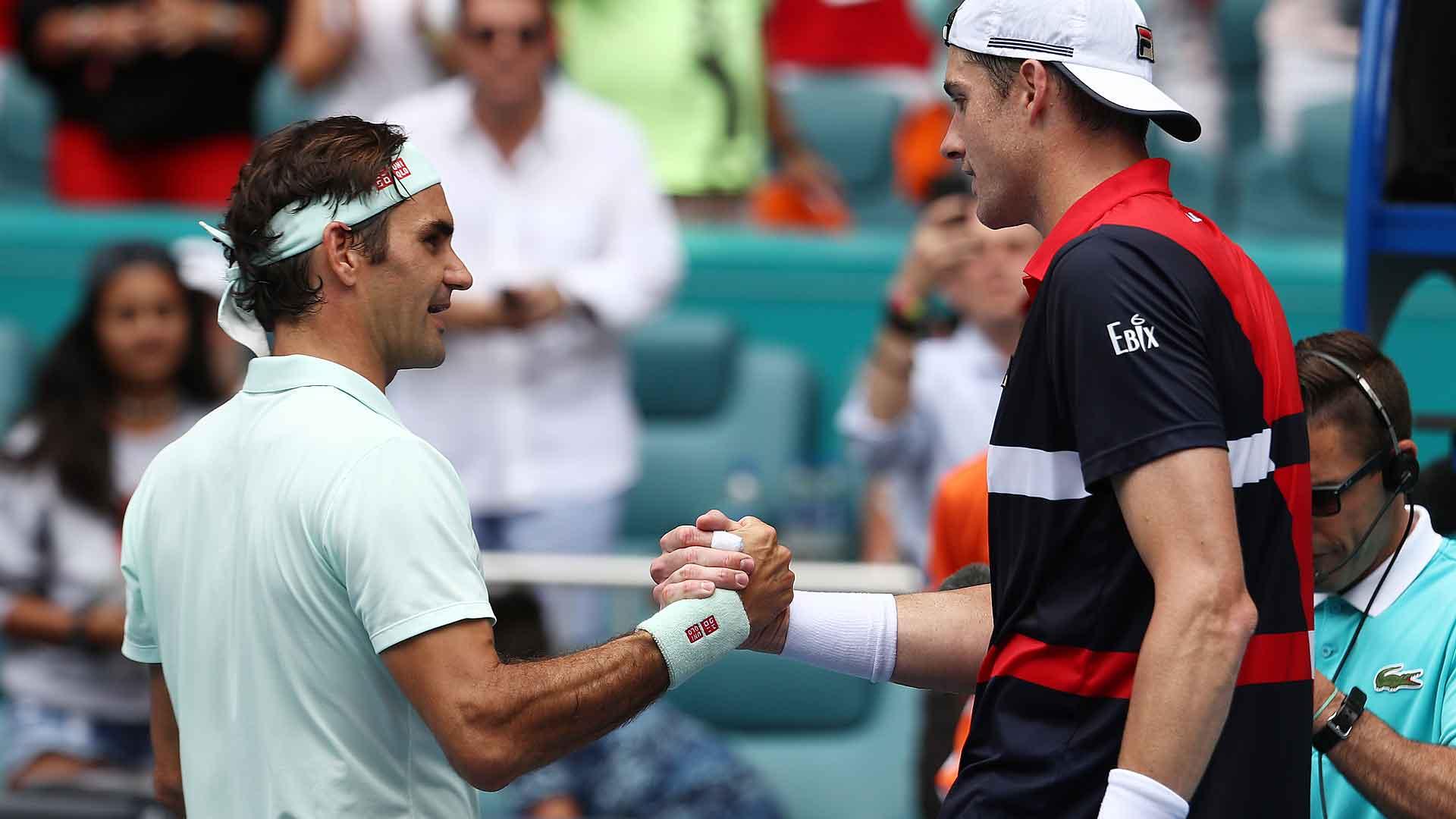 Federer, Isner