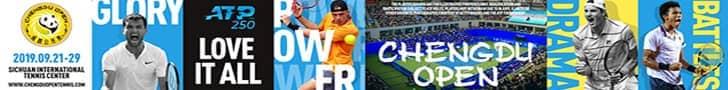 Get tickets for the <a href='https://www.atptour.com/en/tournaments/chengdu/7581/overview'>Chengdu Open</a>, an ATP 250 tennis tournament