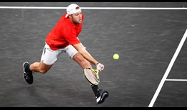 Jack Sock owns a 6-3 record in Laver Cup matches.