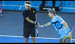 Robert Lindstedt and Jan-Lennard Struff are through to their first ATP Tour doubles final as a team in Metz.