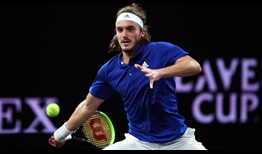 Stefanos Tsitsipas makes his Laver Cup debut a memorable one by defeating Taylor Fritz.
