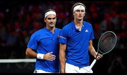 Roger Federer and Alexander Zverev prevail at Laver Cup in their debut outing as a team.