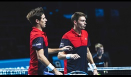 Edouard Roger-Vasselin and Nicolas Mahut seek their first ATP Tour doubles title as a team this year in Metz.