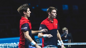 Roger-Vasselin and Mahut in Metz 2019