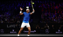 Rafael Nadal opens his Laver Cup campaign in style by putting Team Europe up 7-3 over Team World.