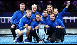Team Europe remains undefeated (3-0) against Team World at the Laver Cup.