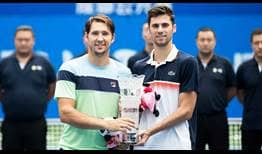 Lajovic Cacic Chengdu 2019 Final Trophy