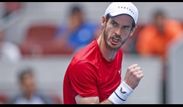 Andy Murray feels upbeat after beating Nitto ATP Finals hopeful Matteo Berrettini on Tuesday in Beijing.