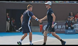Neal Skupski/Jamie Murray are going for their first team title this week in Beijing.