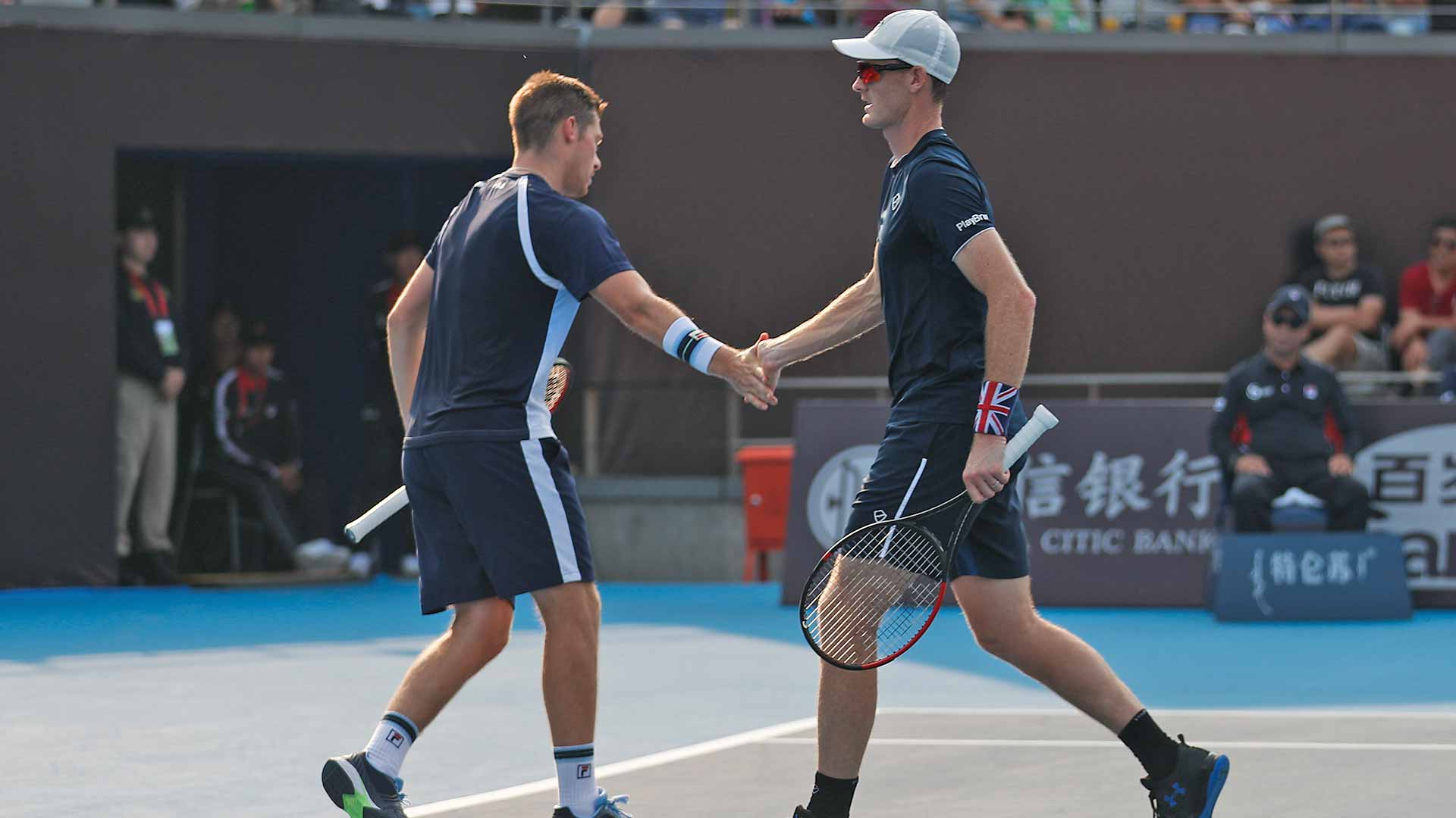 Neal Skupski/Jamie Murray advance on Wednesday at the China Open in Beijing