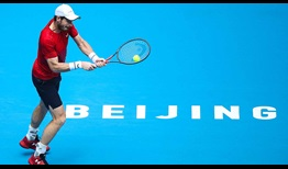 Andy Murray will try to improve to 3-1 against Dominic Thiem on Friday at the China Open in Beijing.