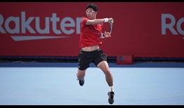 Hyeon Chung reaches his first tour-level quarter-final of the year at the Rakuten Japan Open Tennis Championships on Thursday.