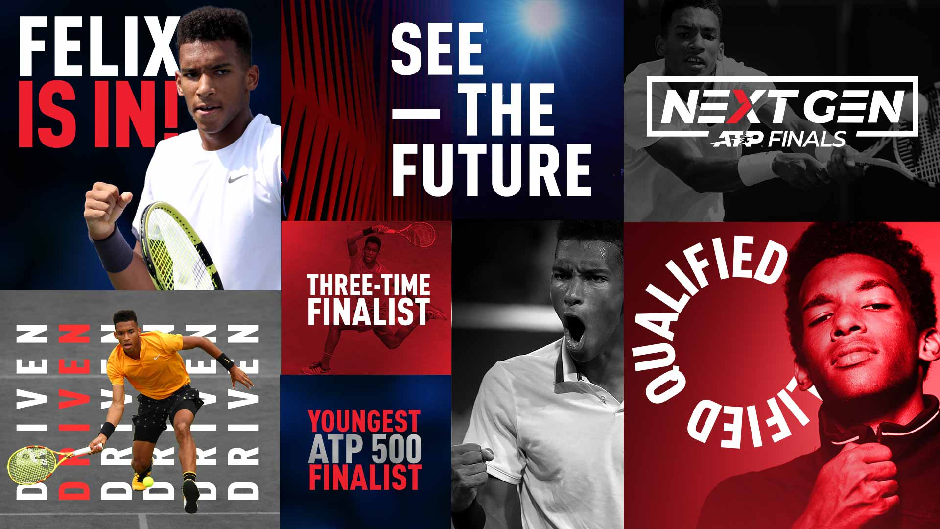 Felix Auger-Aliassime is heading to the 2019 Next Gen ATP Finals in Milan.