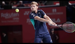 David Goffin has reached at least the semi-finals on all three of his Tokyo tournament appearances.