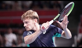 David Goffin owns a 12-1 record at the Rakuten Japan Open Tennis Championships.