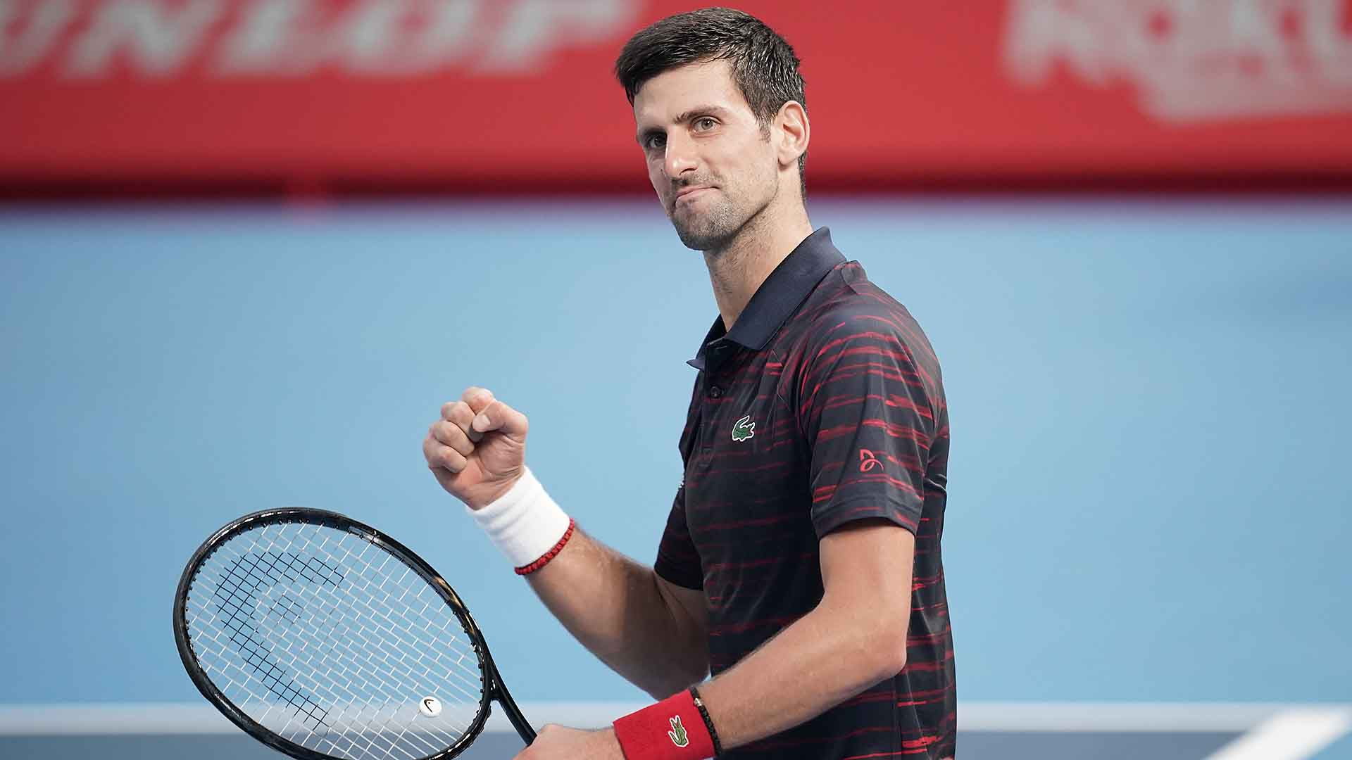 Novak Djokovic did not drop a set en route to the Rakuten Japan Open Tennis Championships title.