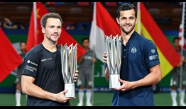 Pavic Soares Shanghai 2019 Doubles Final Trophy