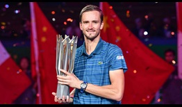 Medvedev Shanghai 2019 Final Trophy