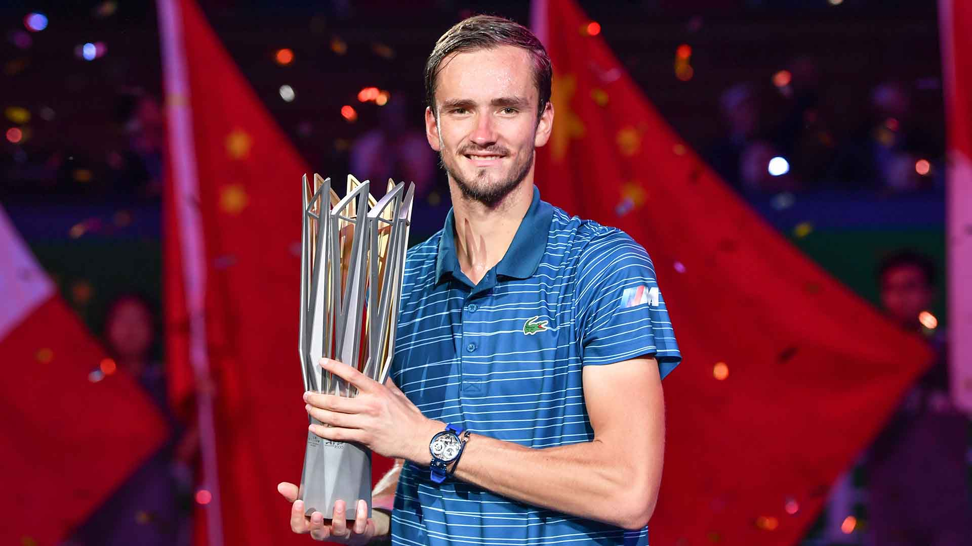 Daniil Medvedev owns a 59-17 tour-level record this year.