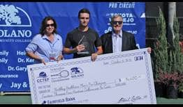 Christopher O'Connell takes his second ATP Challenger Tour title of the year in Fairfield.