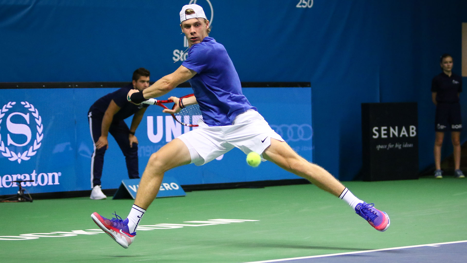 Стокгольм. Шаповалов с восьмой попытки пробился в финал турнира ATP