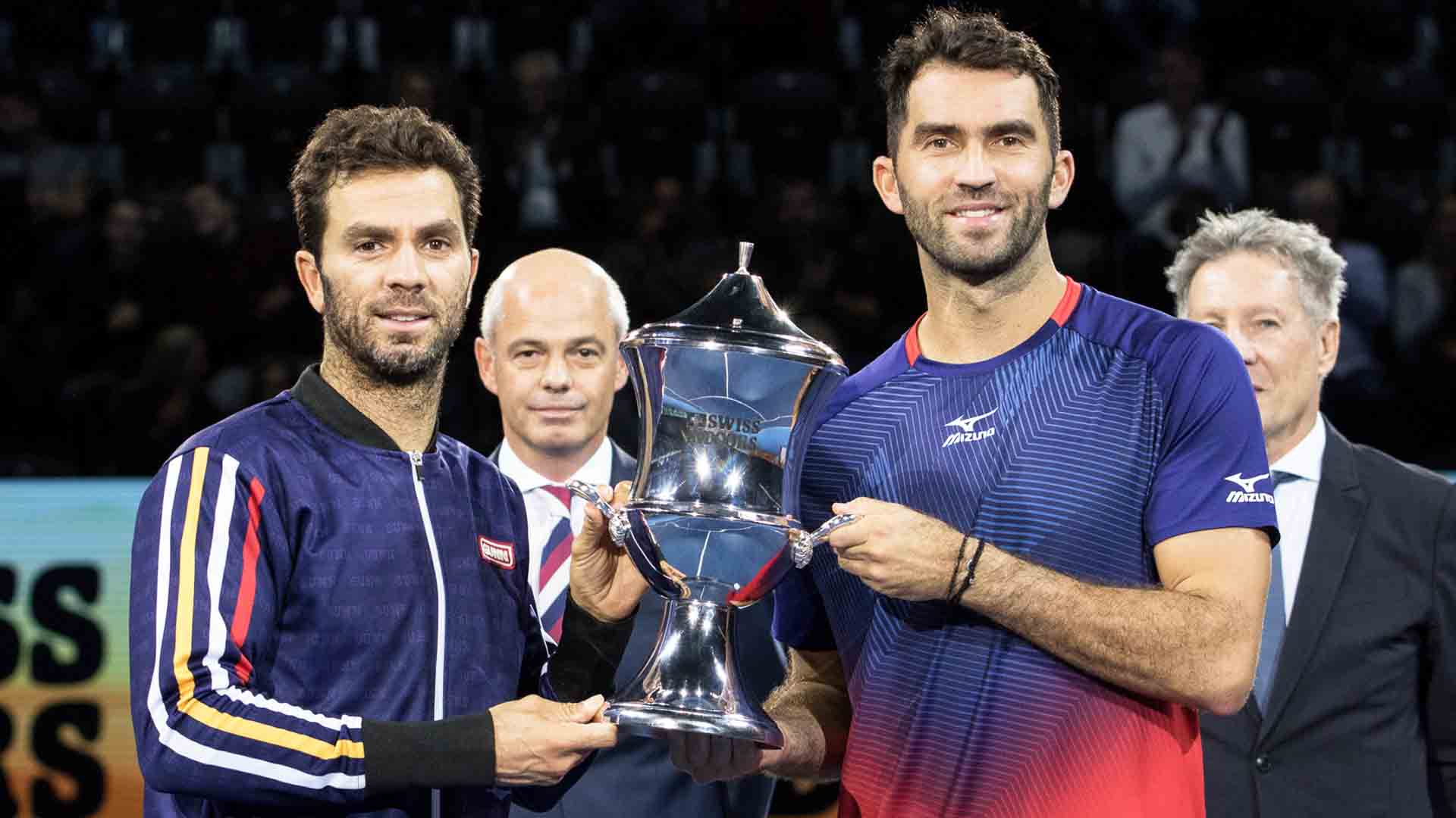 Jean-Julien Rojer and Horia Tecau own a 212-117 tour-level team record.