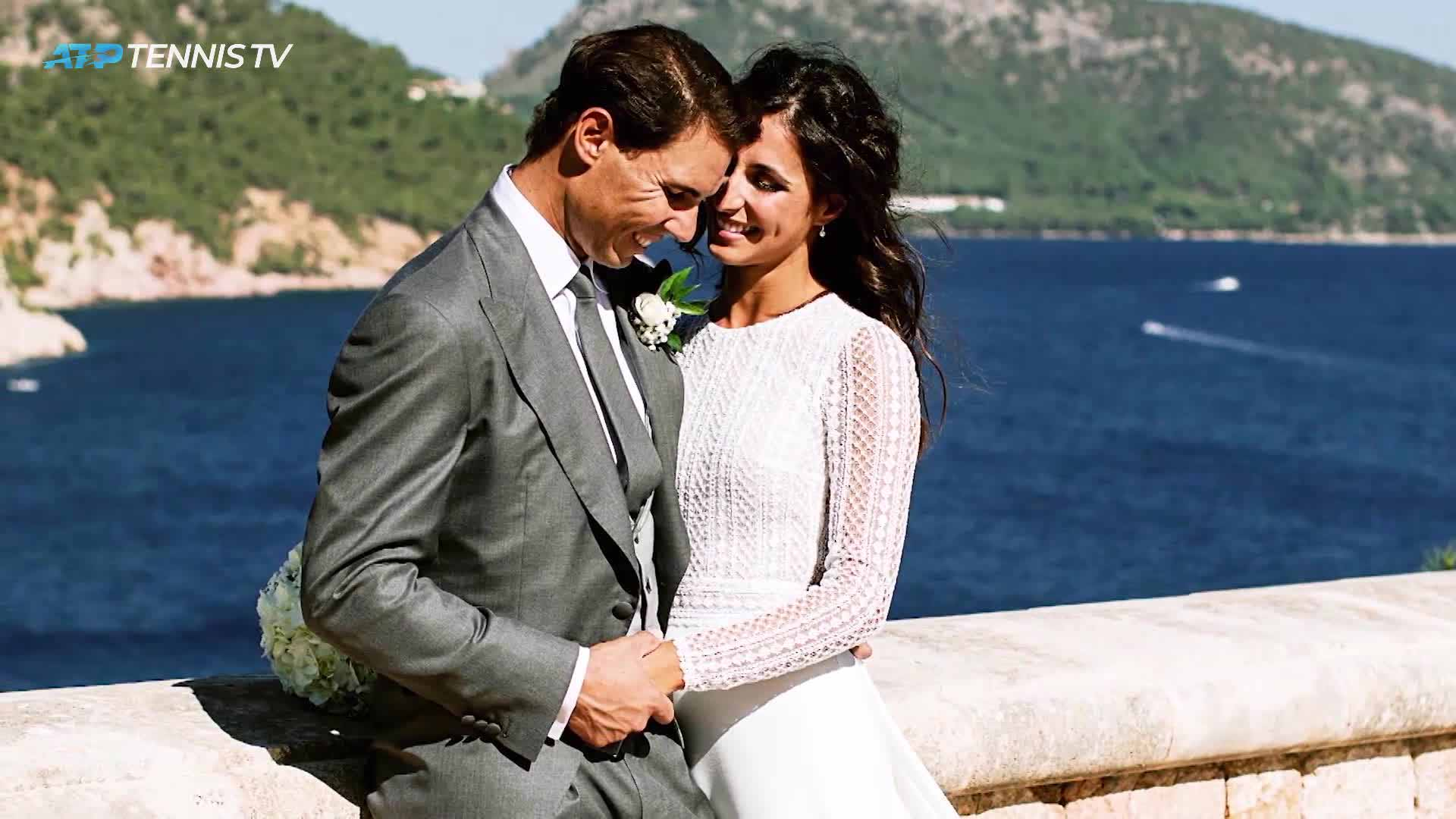 <a href='https://www.atptour.com/en/players/rafael-nadal/n409/overview'>Rafael Nadal</a> and Maria Francisca Perello wed on 19 October in Mallorca.