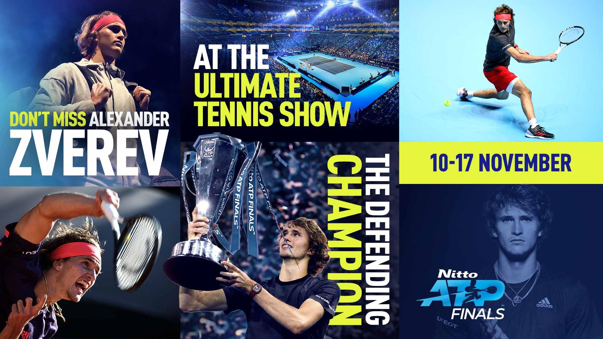 Александр Зверев – седьмой участник Итогового турнира ATP