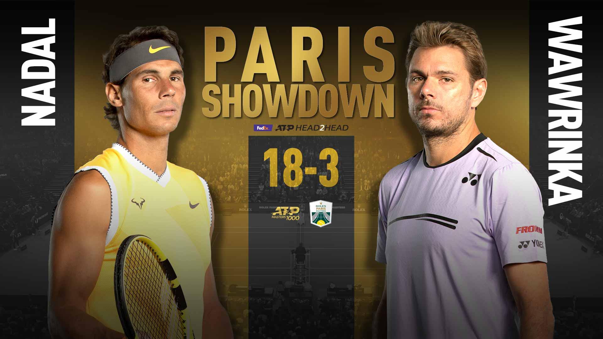 Париж. Надаль и Вавринка поспорят за место в четвертьфинале