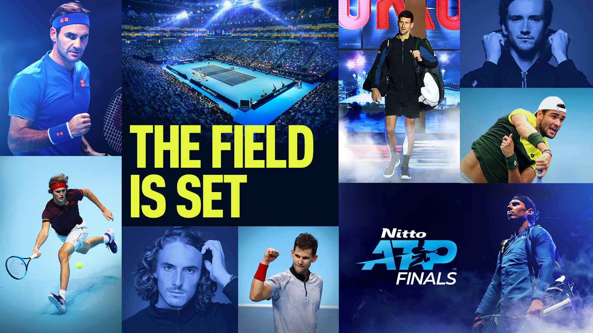 The Field Is Set | <a href='https://www.atptour.com/en/tournaments/nitto-atp-finals/605/overview'>Nitto ATP Finals</a>