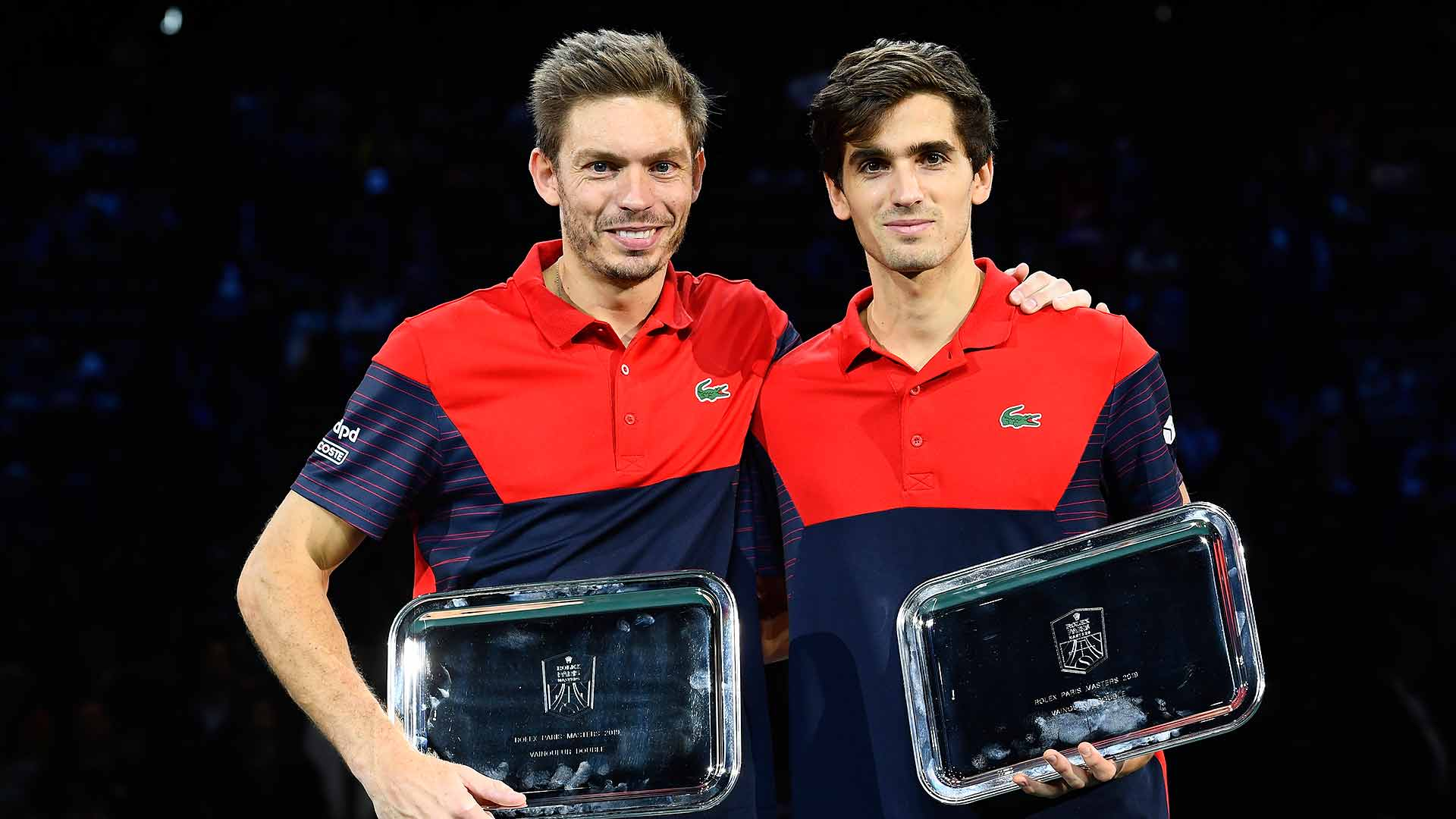 Nicolas Mahut/Pierre-Hugues Herbert win their home ATP Masters 1000 title on Sunday in Paris.