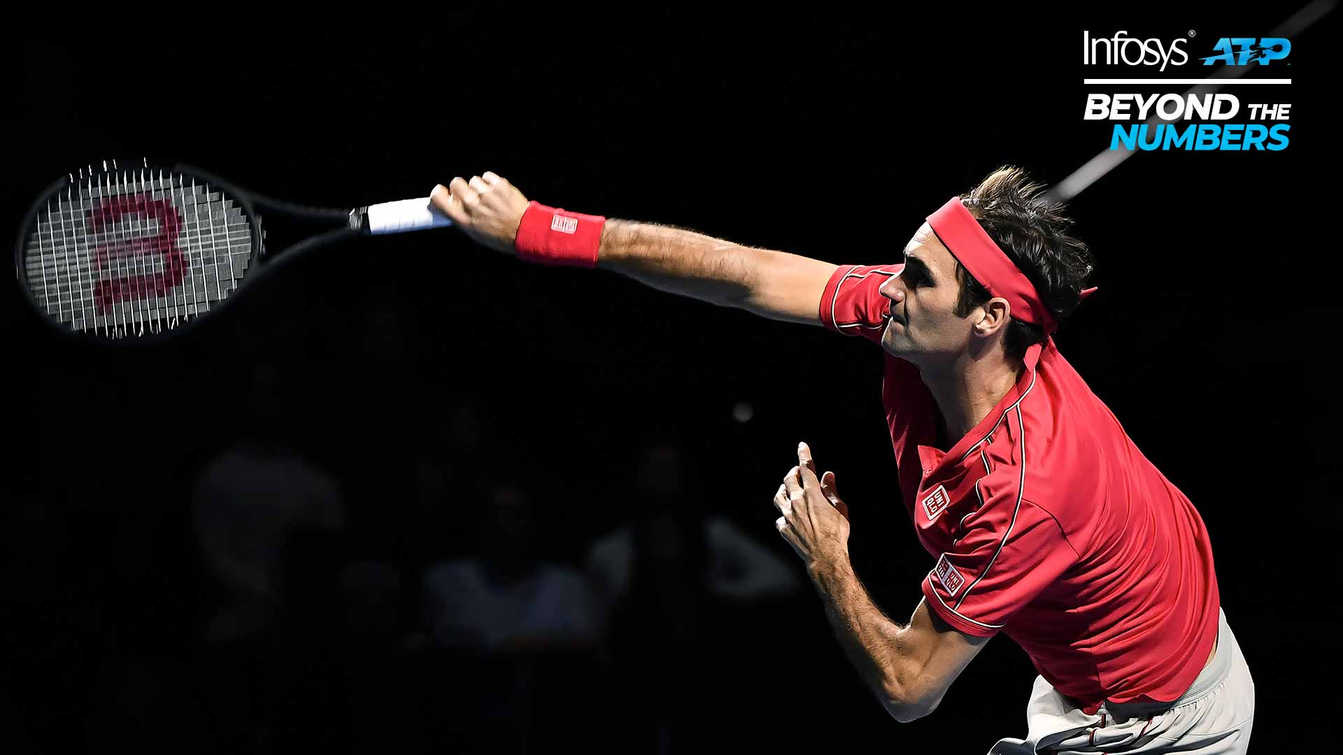 Roger Federer is one of the most consistent servers on the ATP Tour.