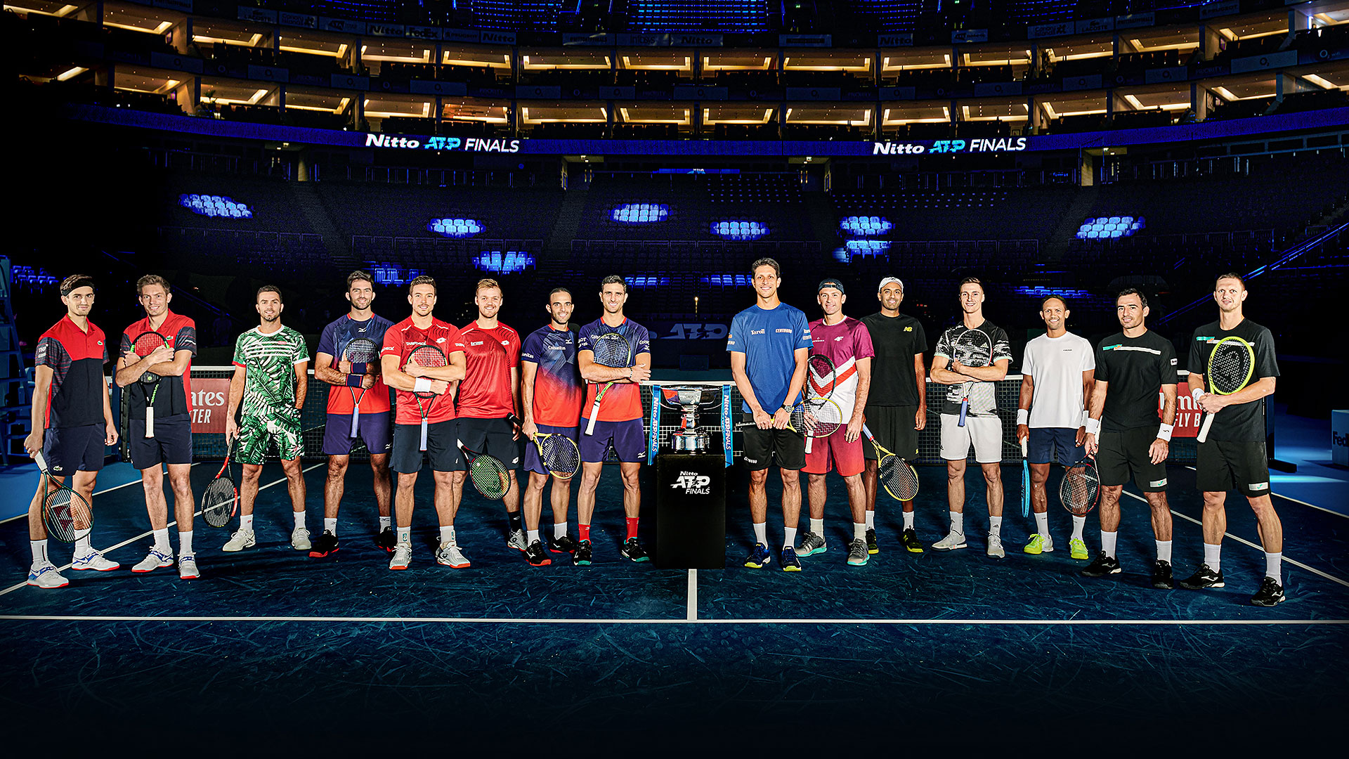 Nitto ATP Finals 2019 doubles group photo