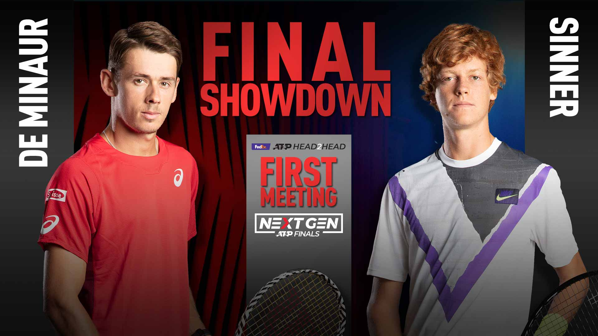 Next Gen ATP Finals. Синнер и де Минор поспорят за титул чемпиона