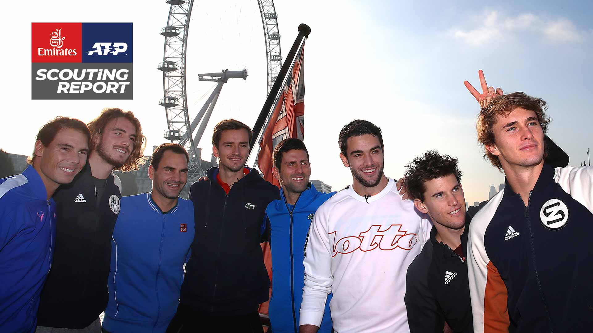 Nadal, Tsitsipas, Federer, Medvedev, Djokovic, Berrettini, Thiem, Zverev | 2019 Nitto ATP Finals | The O2 in London
