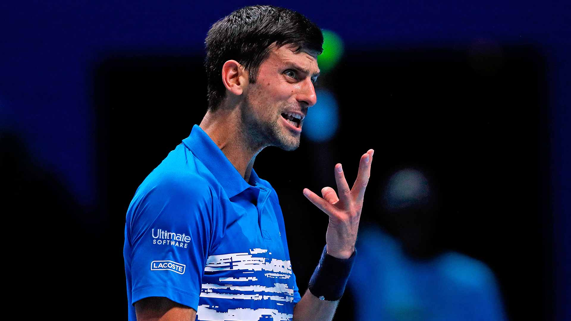 Novak Djokovic is going for his sixth Nitto ATP Finals title this week.
