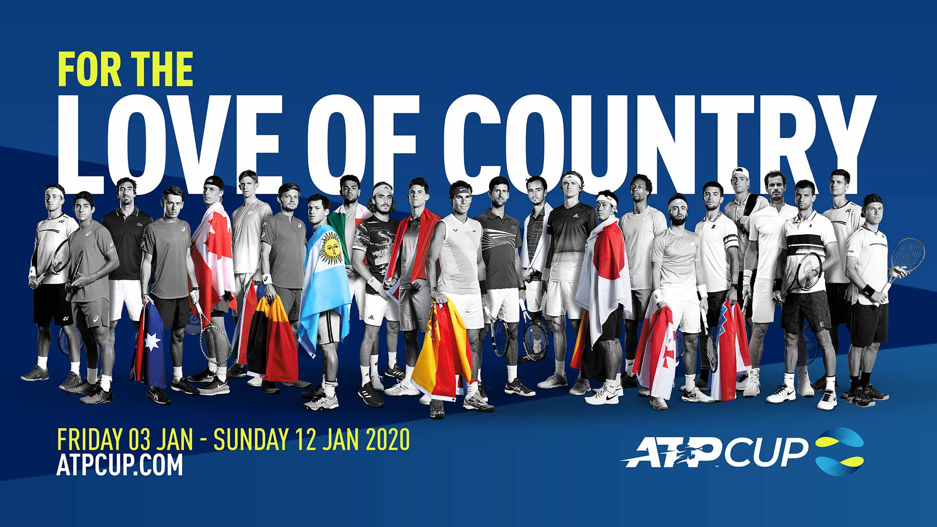 Известны все соперники на групповом этапе ATP Cup