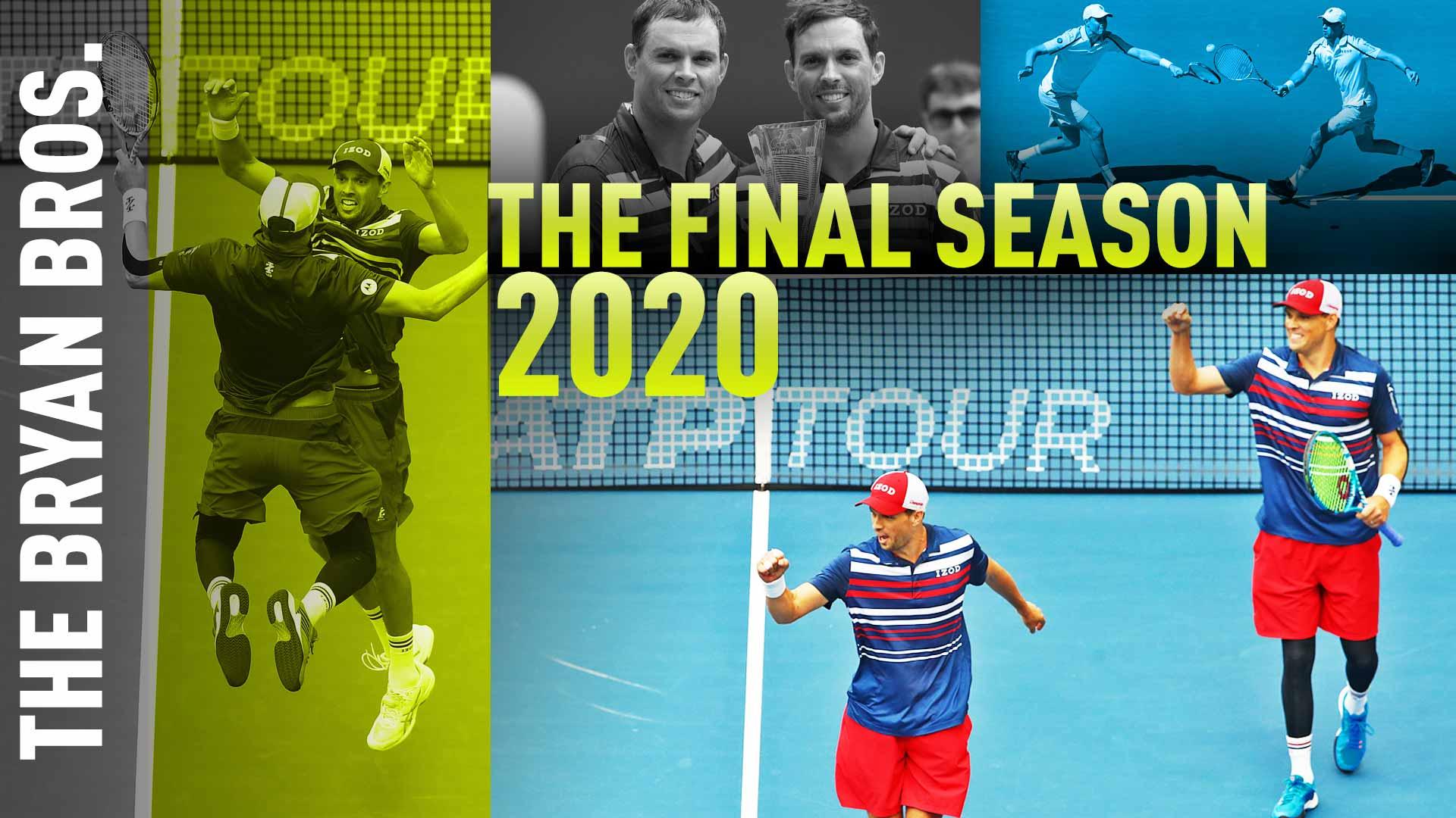 Легендарные братья Брайаны объявили, что уйдут из тенниса в 2020 году