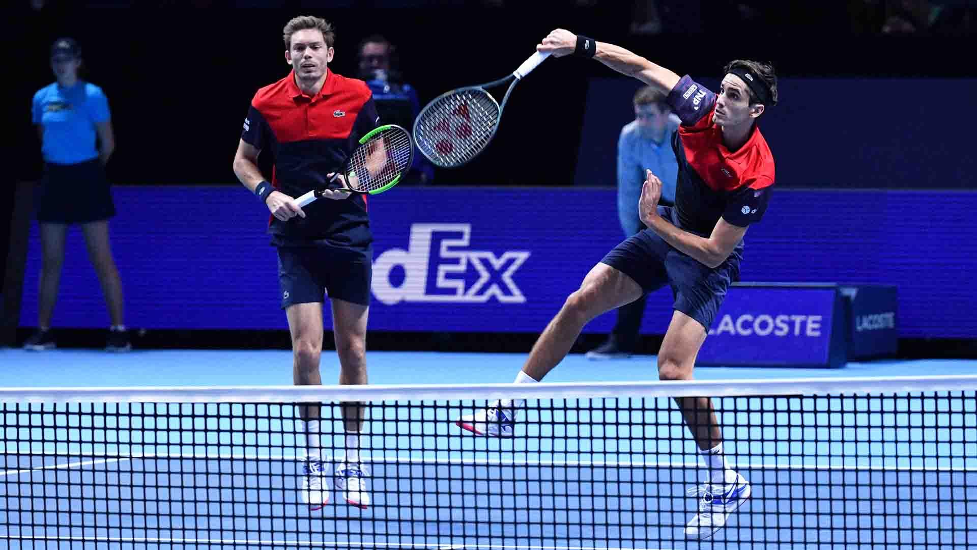ATP Finals. Два дуэта обеспечили себе места в полуфинале по итогам двух раундов