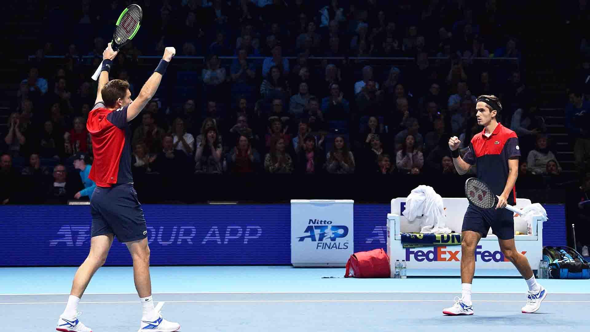 ATP Finals. Эрбер и Маю выиграли все матчи в группе, первые ракетки мира вышли в полуфинал