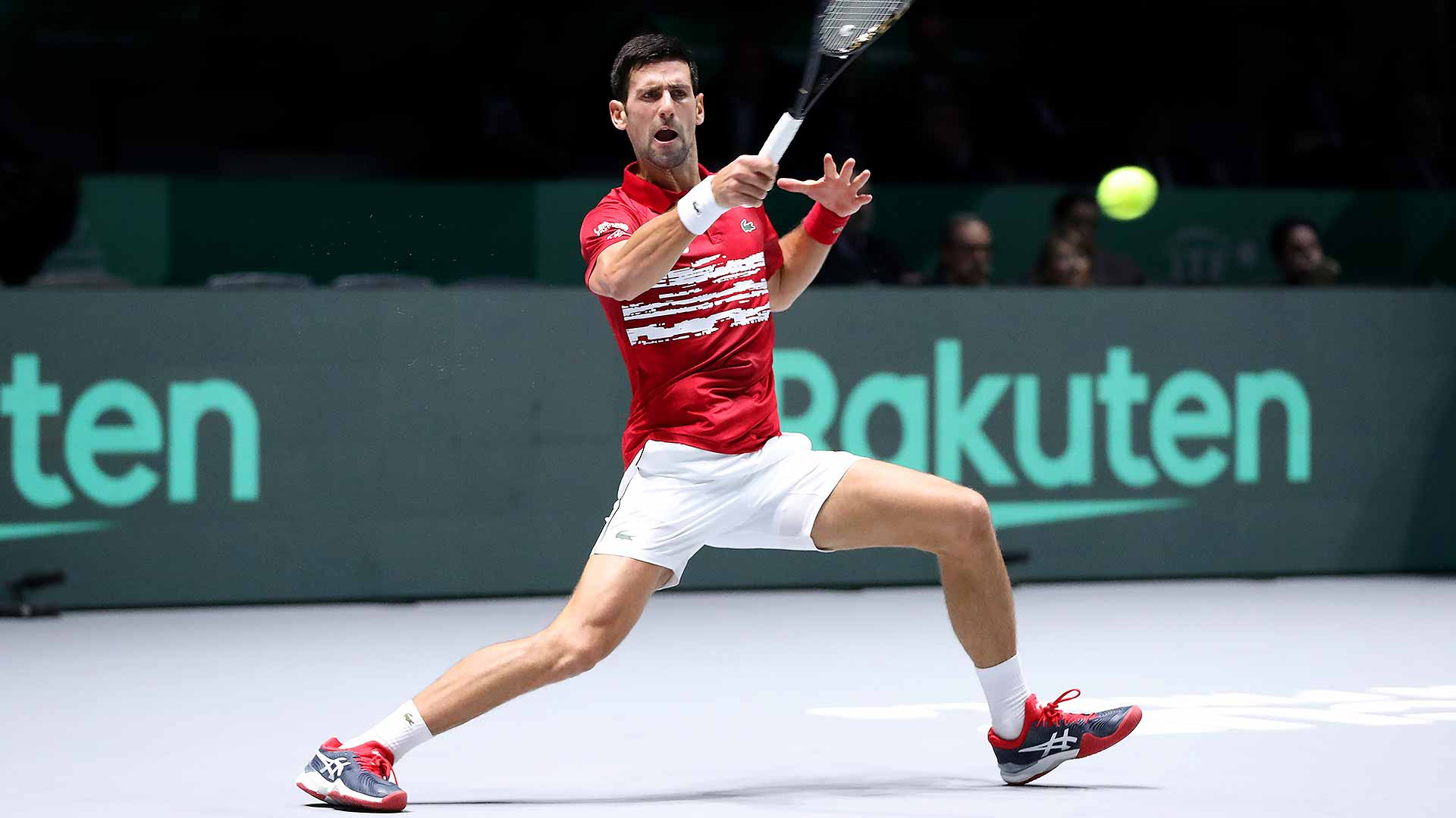 Novak Djokovic and Serbia are going for their second Davis Cup title (2010) this week in Madrid.